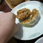 春日部イオンの青菜のでっかい餃子を食べたの巻