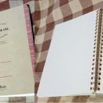 手帳というかノートというか
